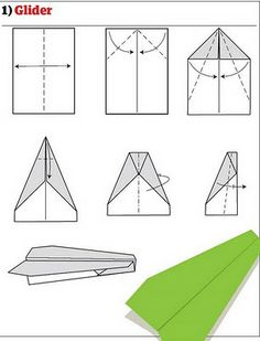 awesome paper airplane instructions