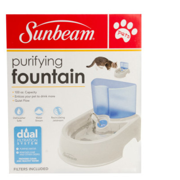 sunbeam pet fountain instructions