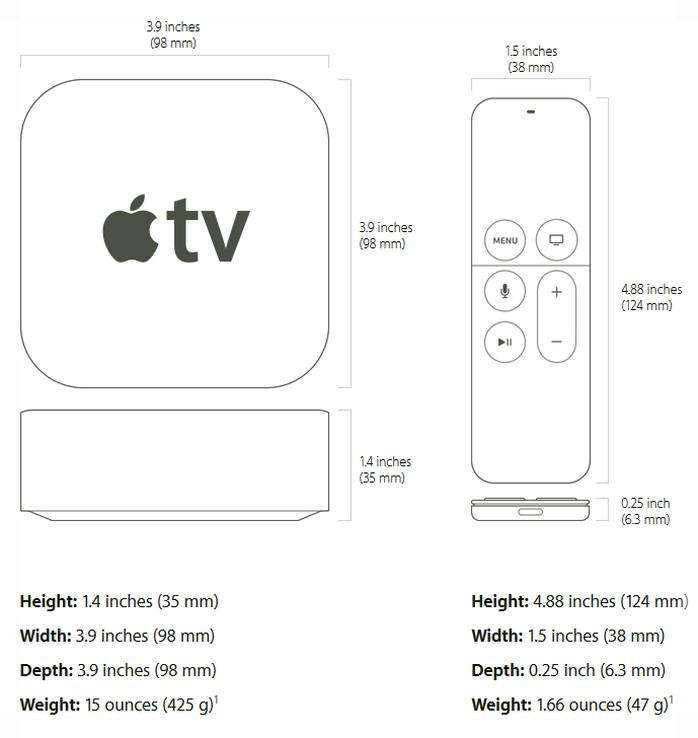 Apple tv 4 manual download