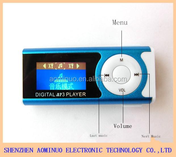 digital mp3 player instructions