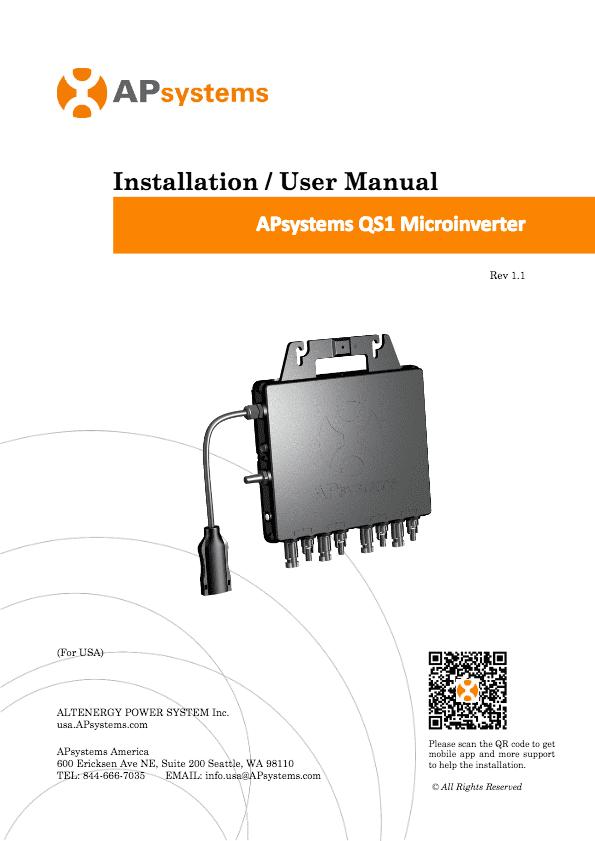 ecu zigbee for yc1000 user manual