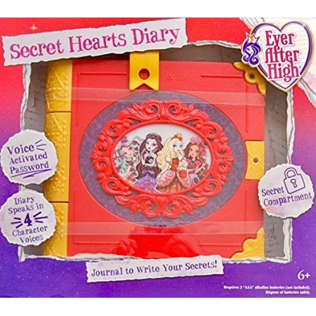 ever after high secret hearts diary instructions