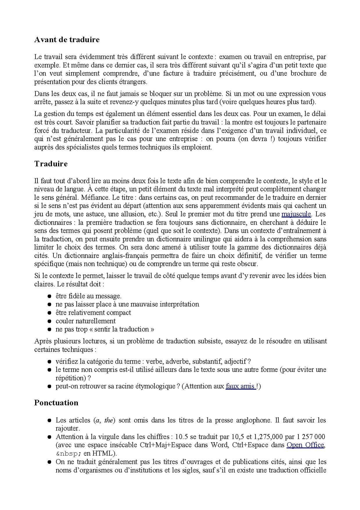 Les types de traduction pdf