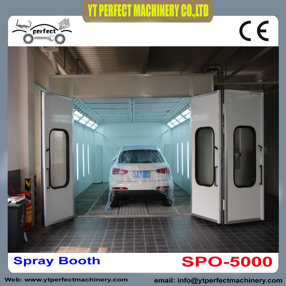 Spray bake paint booth manual