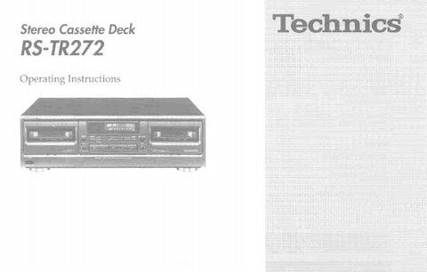 technics rs tr232 service manual