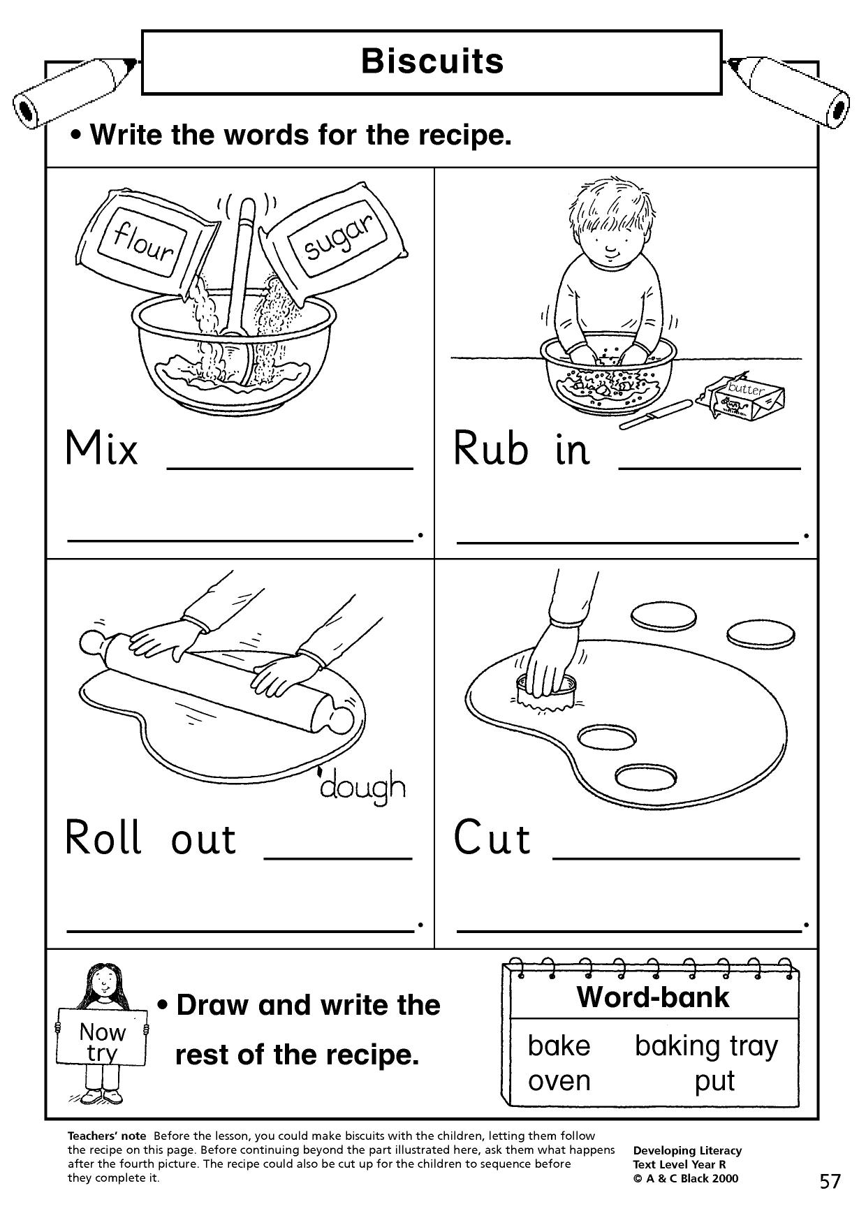 following instructions activities ks1