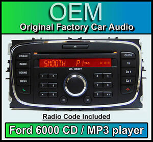 Ford 6000 cd manual 2008