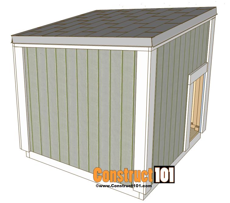 Free dog house plans pdf