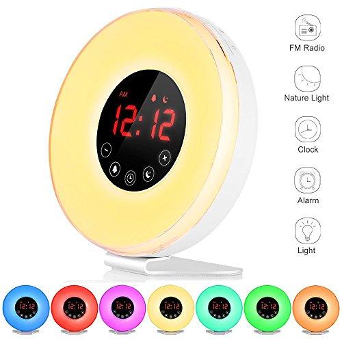 gadgetree wake-up light clock instructions