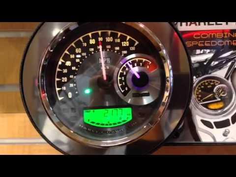 harley davidson speedometer tachometer combo instructions