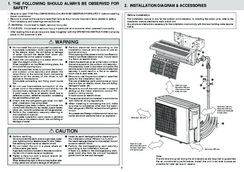 Heron 2.2 air conditioner manual