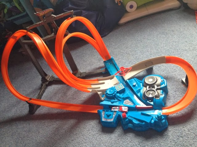 Hot wheels track sets instructions