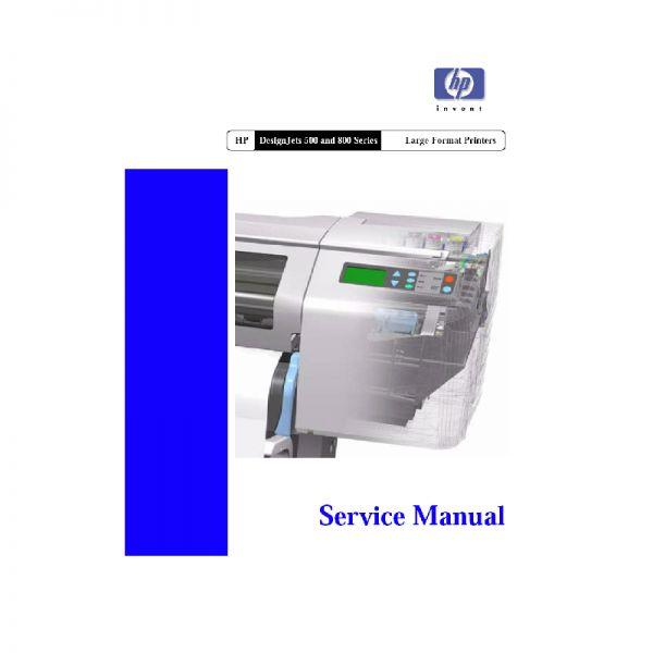 hp designjet 600 plotter manual