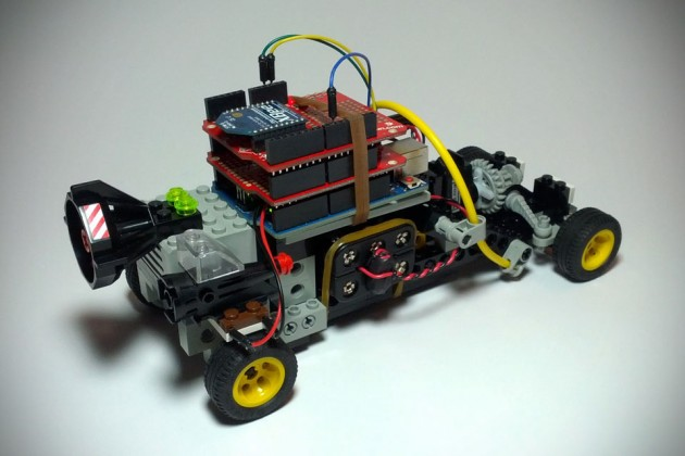 instructables.com diy arduino remote control and lego rc vehicle