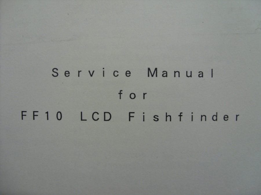 jarvis marine ff-10 fishfinder manual