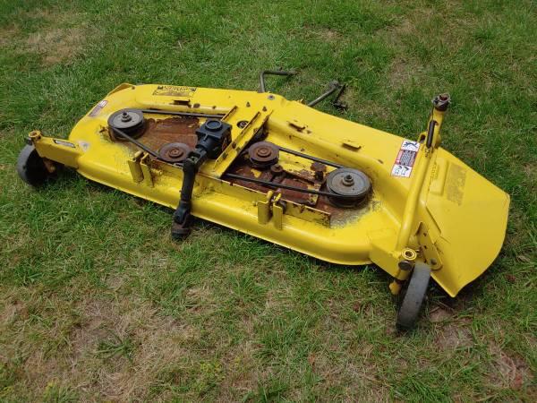 john deere 445 60 inch mower deck manual