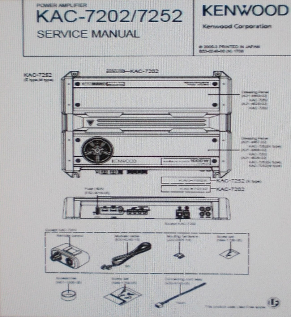 kenwood kac 646 amp manual