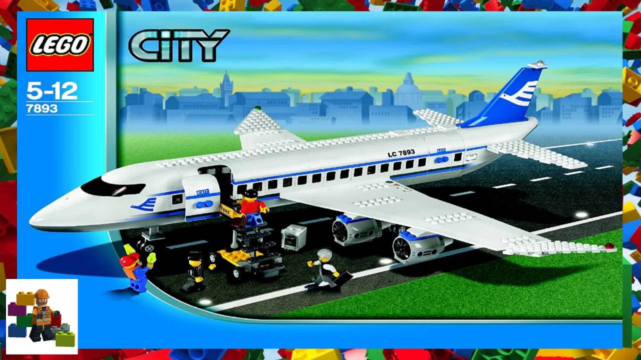 lego airplane instructions 7893