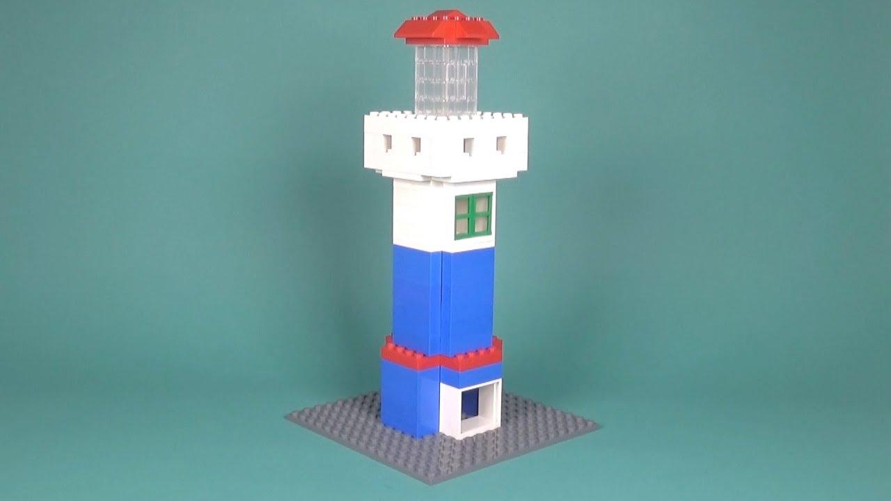Lego classic 10692 lighthouse instructions