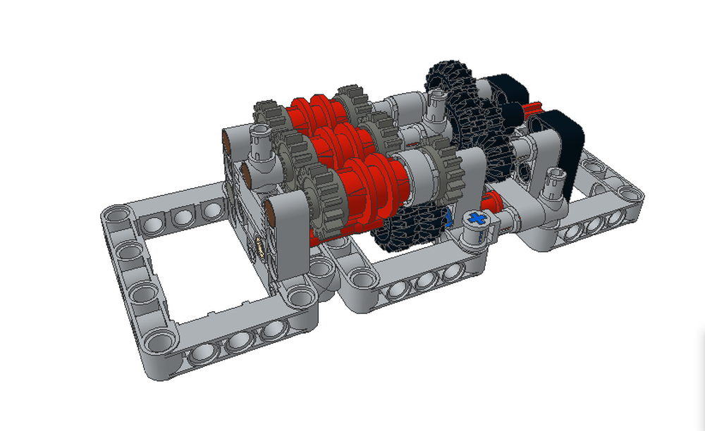 lego gearbox building instructions