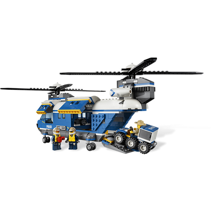 lego helicopter 4439 instructions