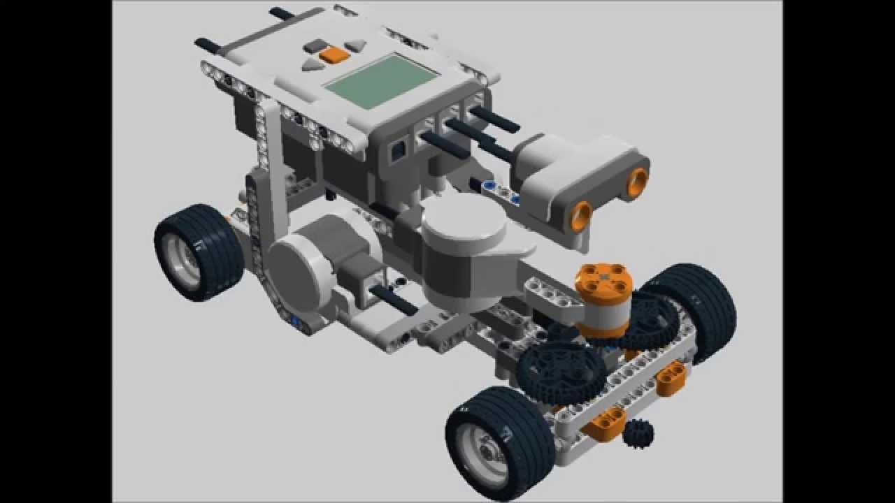 lego mindstorms nxt robotic arm building instructions