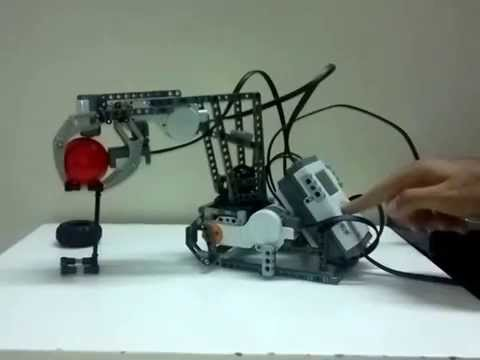 lego mindstorms nxt robotic arm building instructions