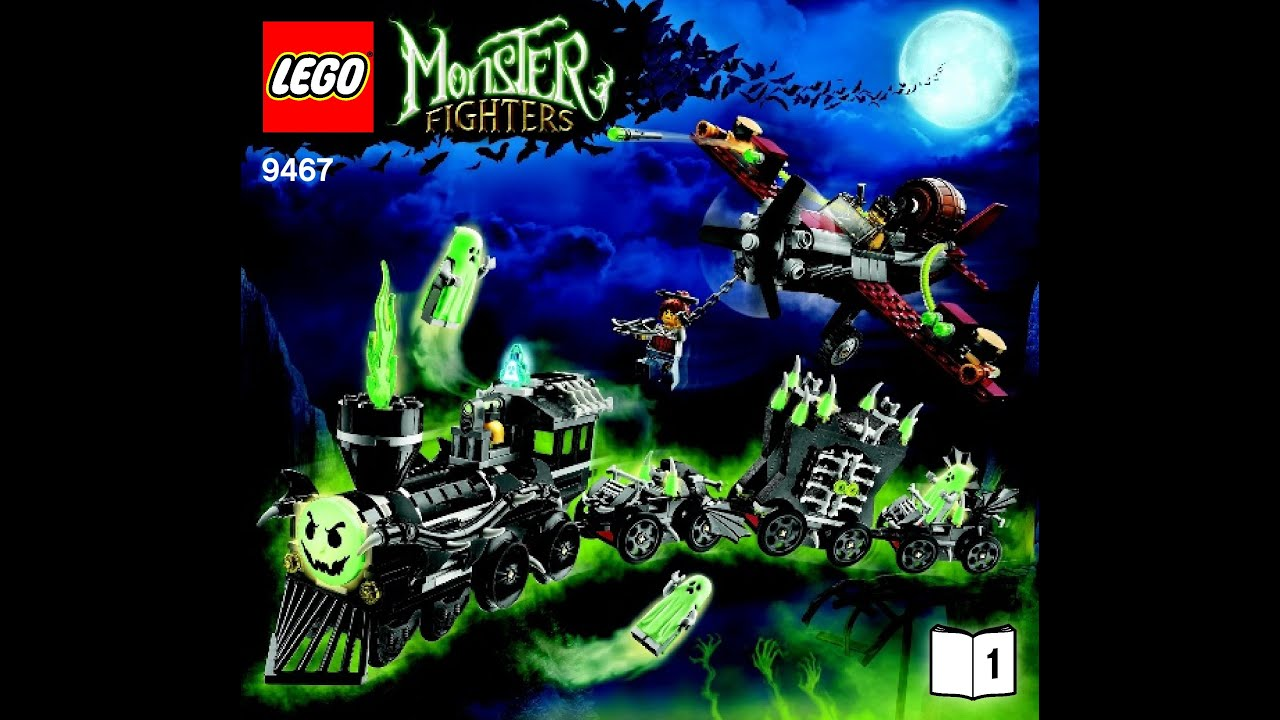 lego monster fighters 9463 instructions