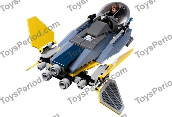 Lego star wars jedi starfighter and vulture droid instructions