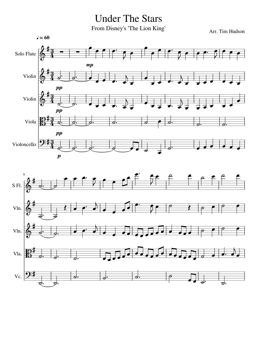 Lion king orchestral score pdf
