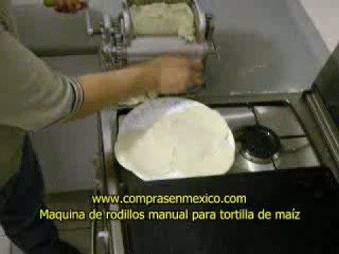 maquina para hacer tortillas de maiz manual