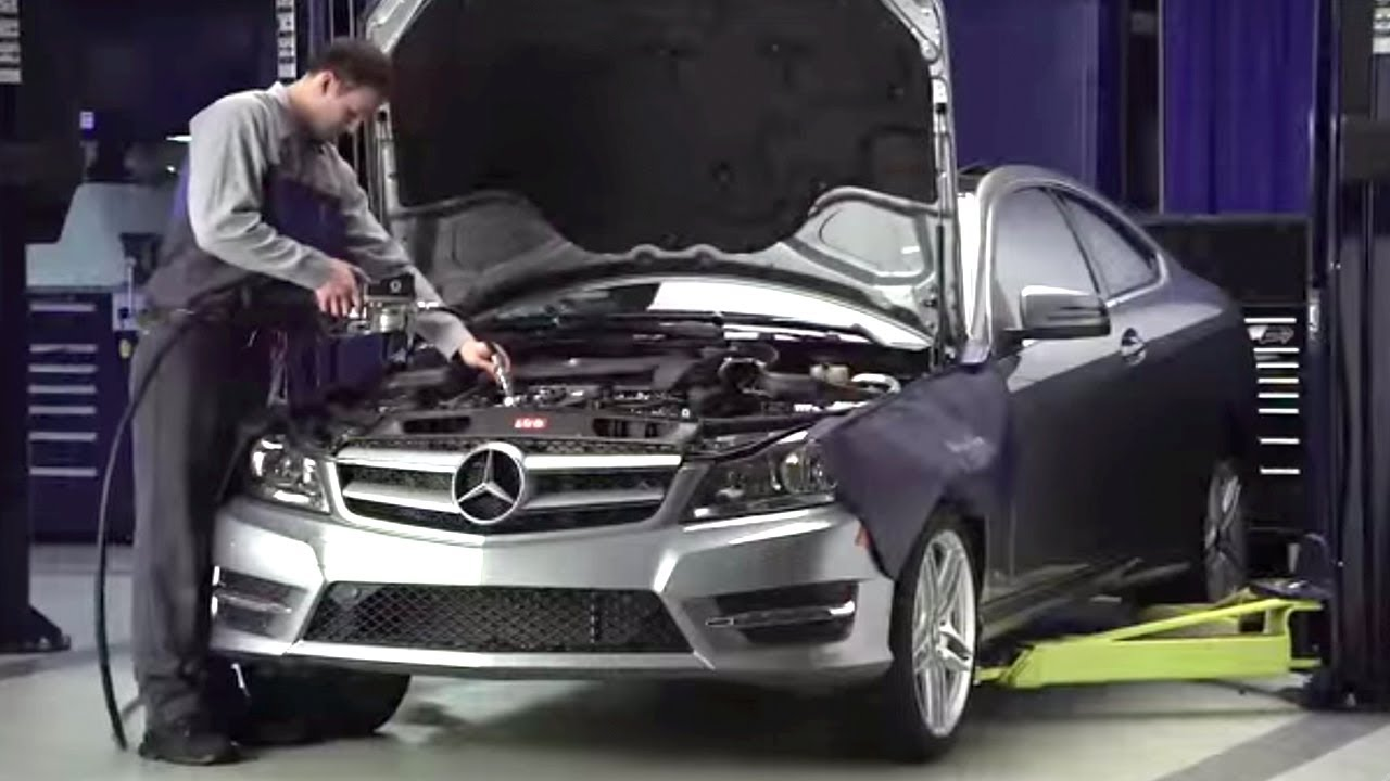 Mercedes benz auto repair manuals