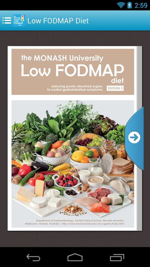 Monash university low fodmap pdf