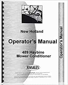 new holland 489 haybine manual