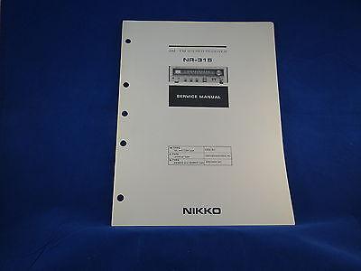 nikko nr-320 service manual