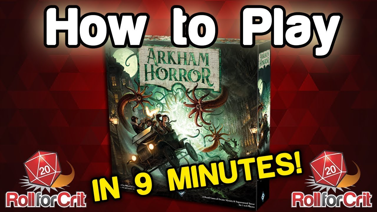 Octgn how to play arkham horror