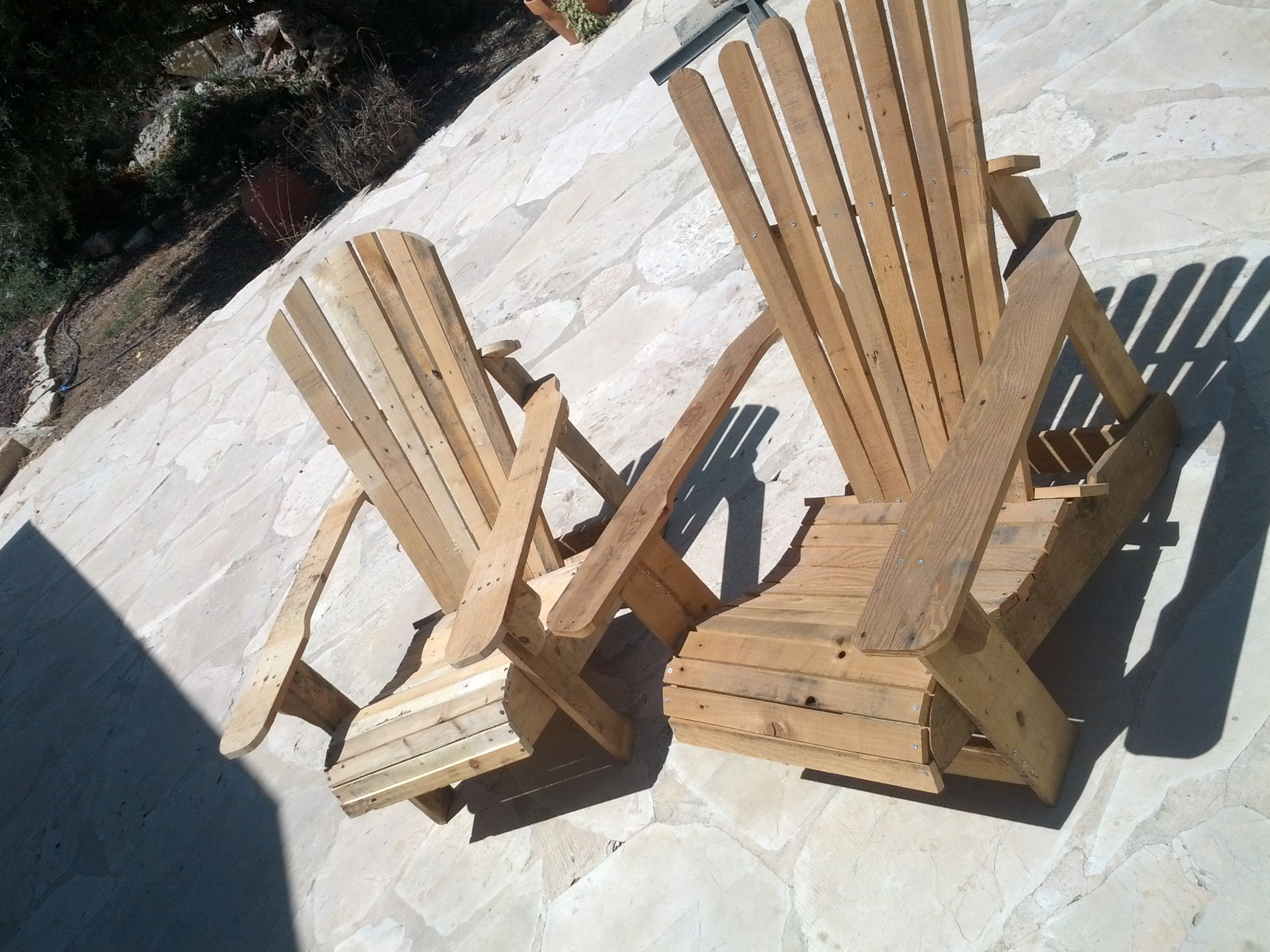Pallet adirondack chair diy guide pdf version