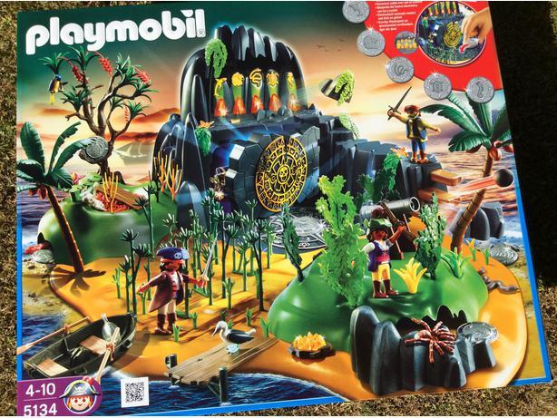 playmobil 5134 pirate adventure island instructions