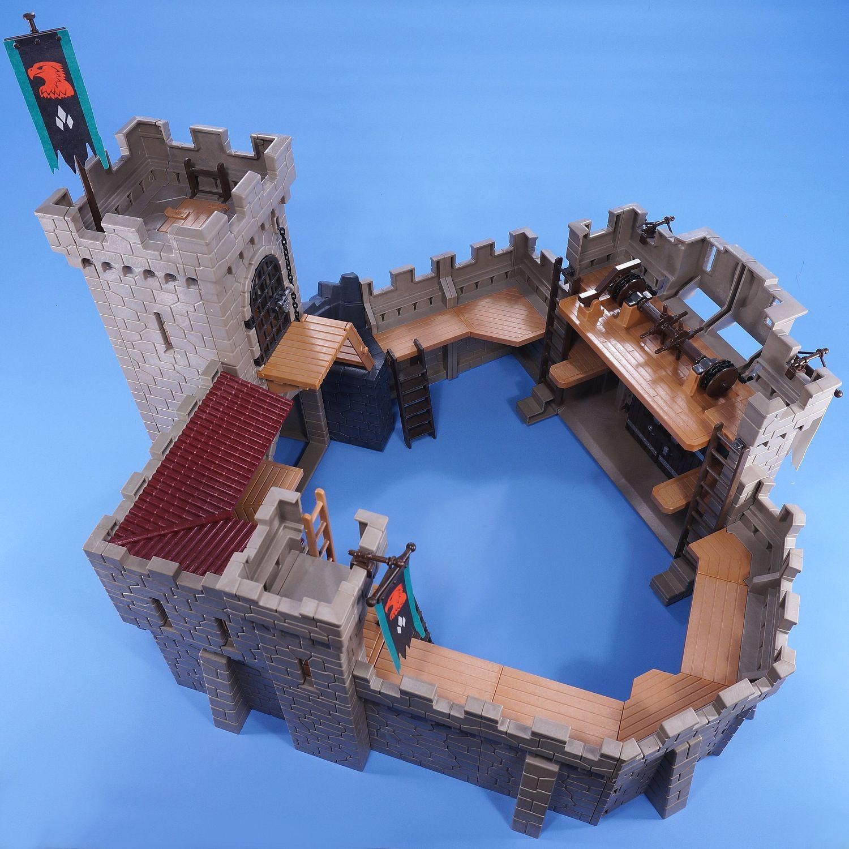 playmobil eagle castle instructions