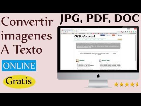 Reconocer texto de pdf escaneado online