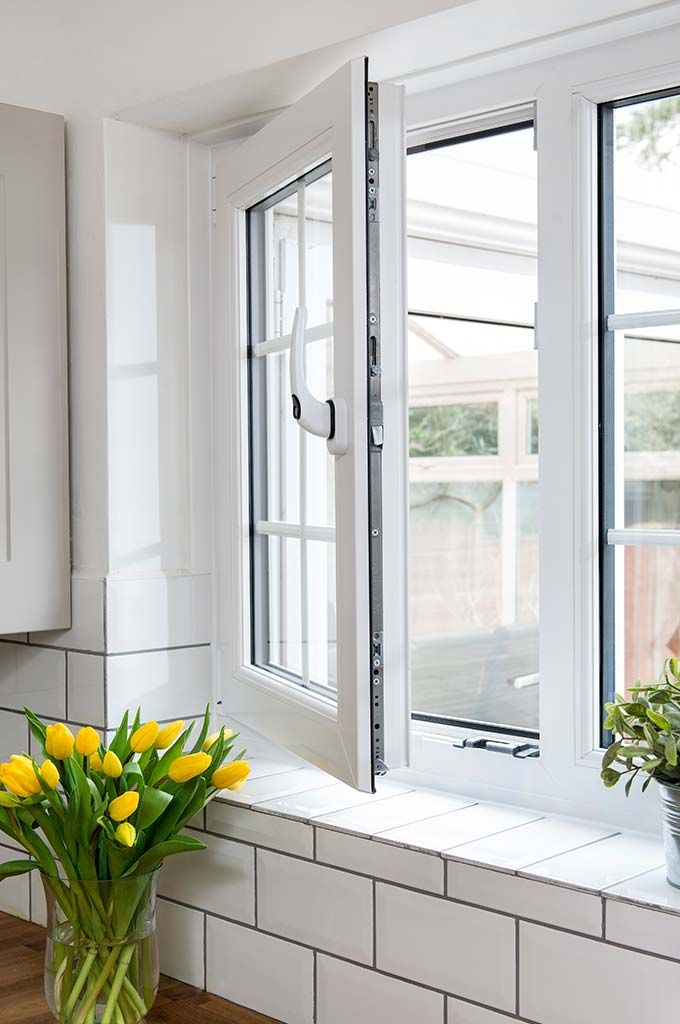 rehau windows open close tilt instructions