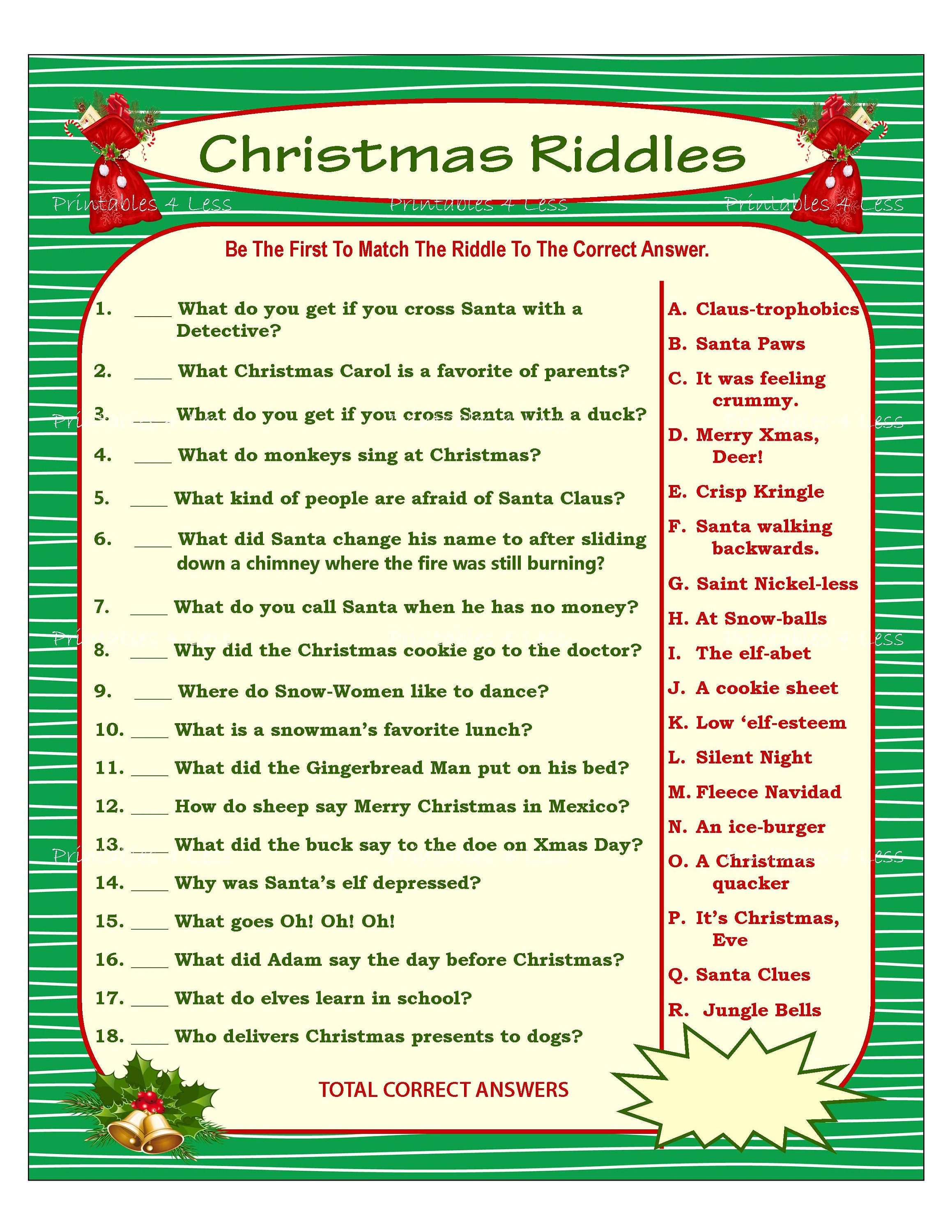 Riddles with answers pdf download