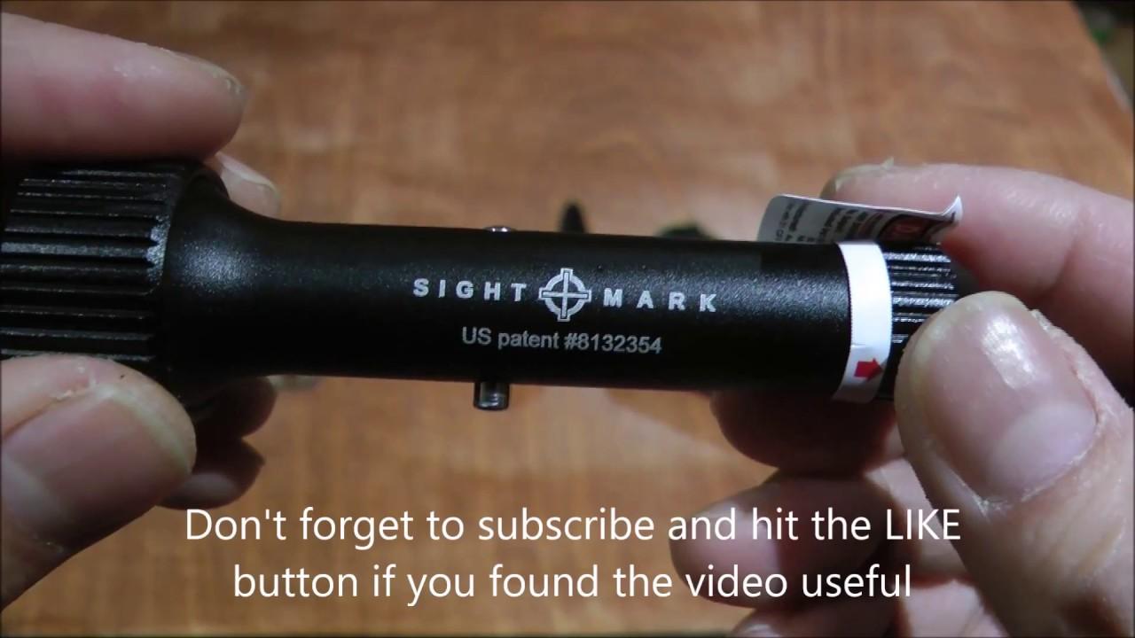 sightmark universal laser bore sight instructions
