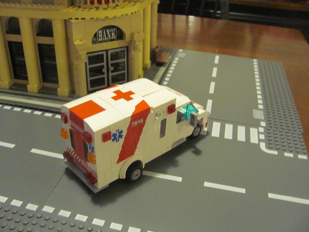 St johns lego ambulance instructions