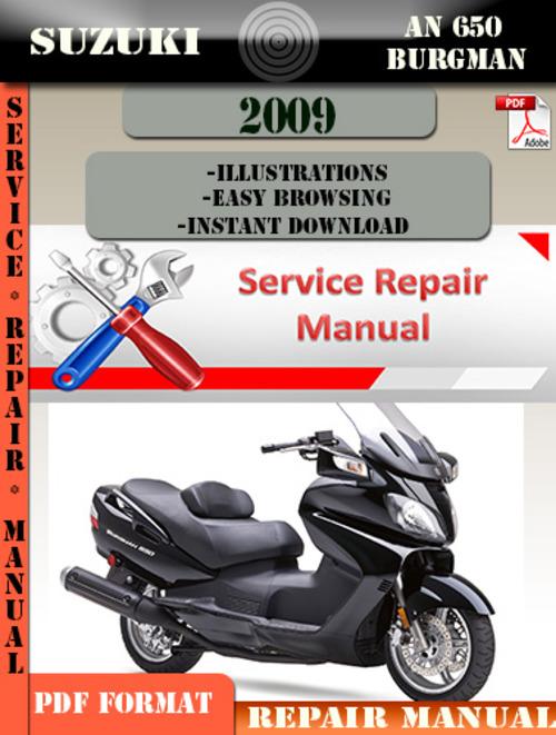 suzuki burgman 650 service manual pdf