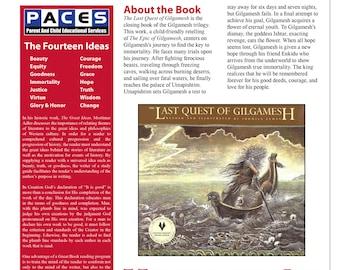 The epic of gilgamesh pdf answers