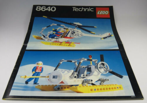 vintage lego technic instructions