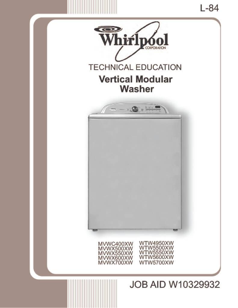 Whirlpool direct drive washer manual