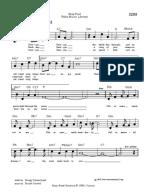 Will you still love me tomorrow sheet music pdf