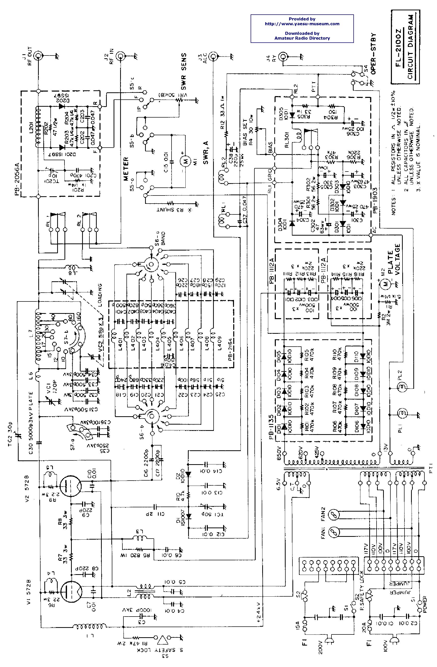 yaesu fl 2100z service manual
